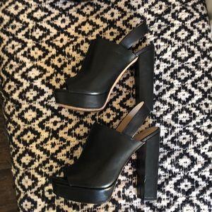 """Black BCBG 5 """" heels."""